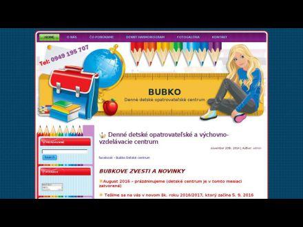 www.bubko.sk