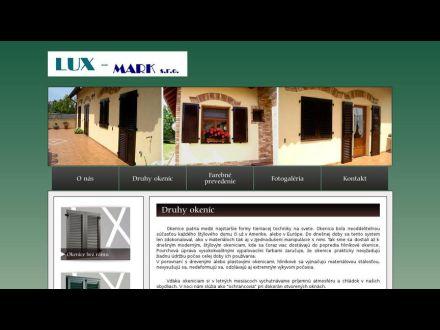 www.okenice-luxmark.sk