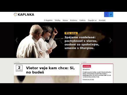 www.cbkaplnka.sk