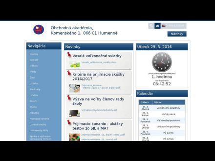 www.oahe.edupage.sk