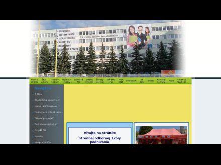 www.sospodnikania.sk