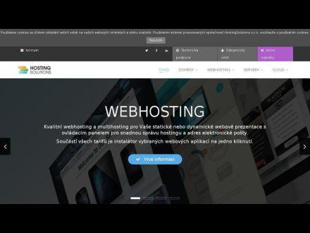 www.hostingsolutions.cz