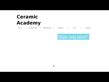 www.ceramicacademy.sk