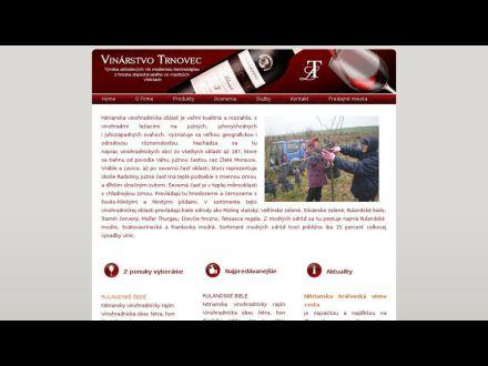 www.vinarstvotrnovec.sk