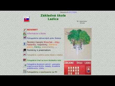 www.zsladice.edu.sk