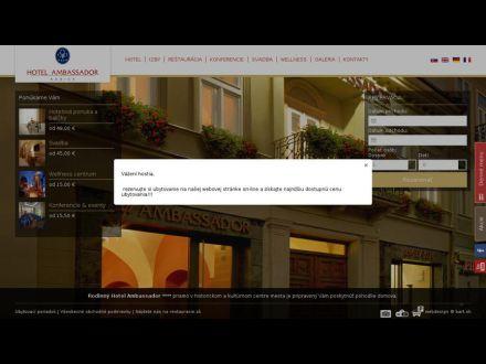 www.ambassador.sk