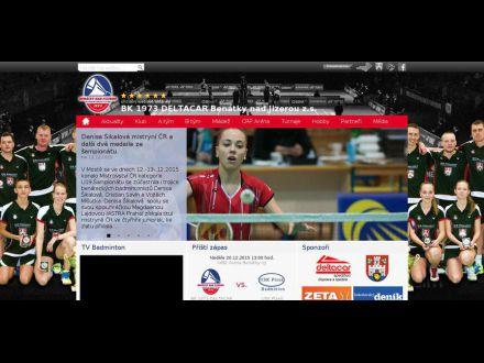 www.badminton-benatky.cz