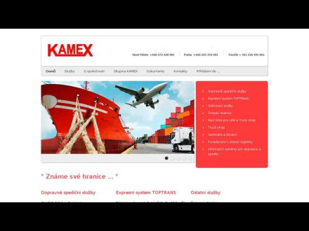 www.kamex.cz