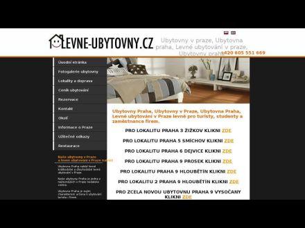 www.levne-ubytovny.cz