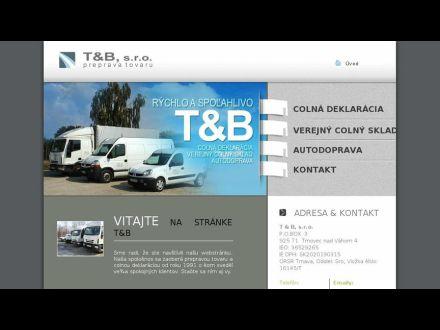 www.tandb.sk