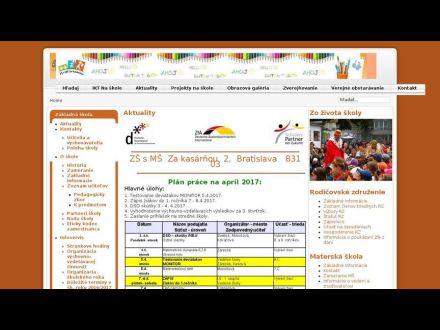 www.zakasarnou.sk