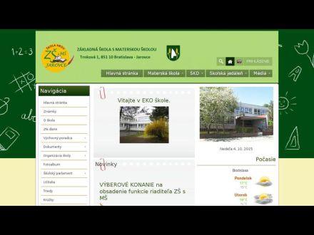 www.zsjarovce.edupage.org