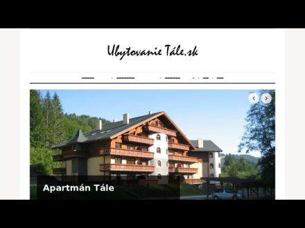 www.ubytovanietale.sk
