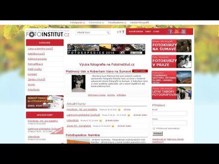 www.fotoinstitut.cz