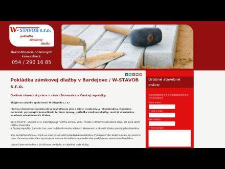 www.w-stavob.sk
