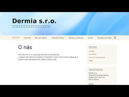 www.dermia.sk