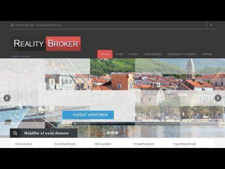 www.realitybroker.sk