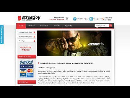 www.streetjoy.sk