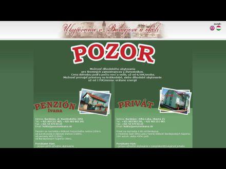 www.penzionivana.sk