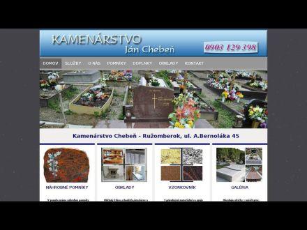 www.kamenarstvo-cheben.sk