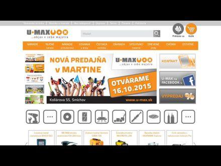 www.u-max.sk