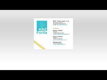 www.KSZFortis.sk