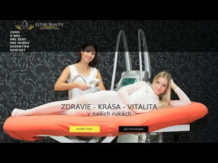 www.esthebeauty.sk