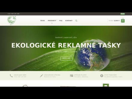 www.ekologicketasky.sk