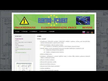 www.elektro-projekt.sk