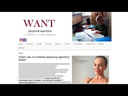 www.want.sk