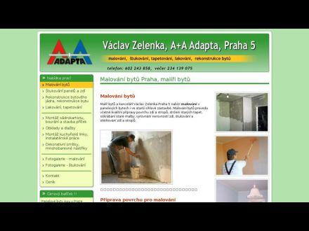 www.malovani-zelenka.cz