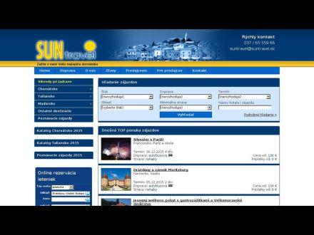 www.suntravel.sk