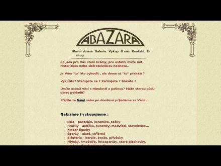 www.http//eshop.abazara.cz