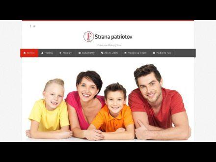www.patrioti.sk