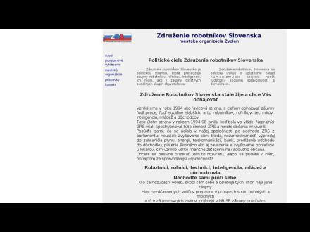 www.zrs.zvolen.szm.com