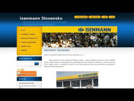 www.isenmannslovensko.sk