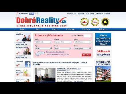 www.dobrereality.sk