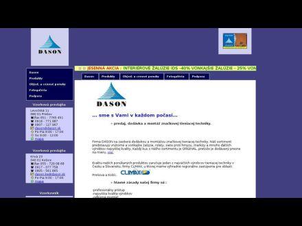 www.dason.sk