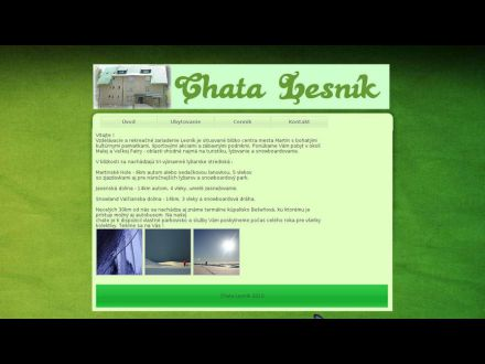 www.chatalesnik.sk
