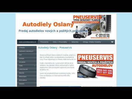 www.autodielyoslany.sk