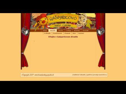 www.bratislavskygasparko.sk/index.php/Divadlo.html