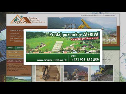 www.maruna-terchova.sk