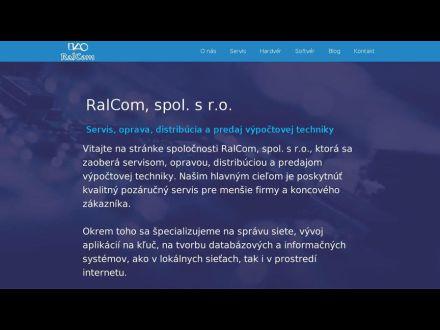 www.ralcom.sk