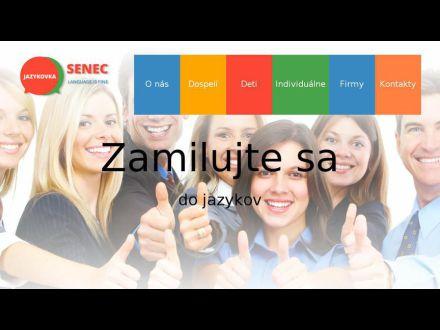 www.jazykovkasenec.sk