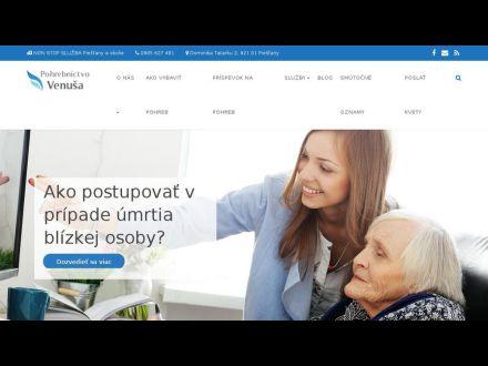 www.pohrebnictvovenusa.sk