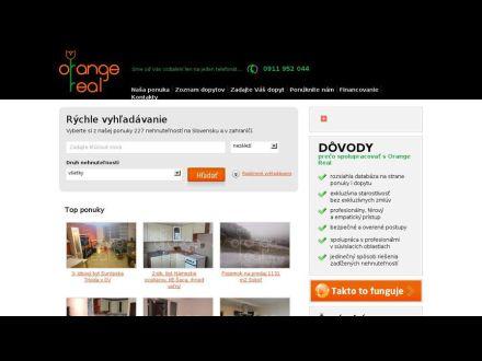 www.orangereal.sk