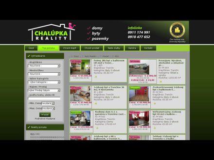 www.chalupkareality.sk