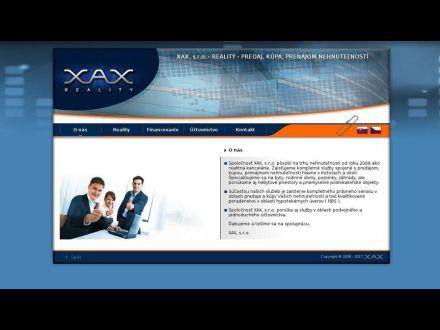 www.xax.sk