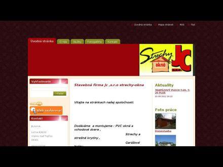 www.jcstrechy-okna.webnode.sk
