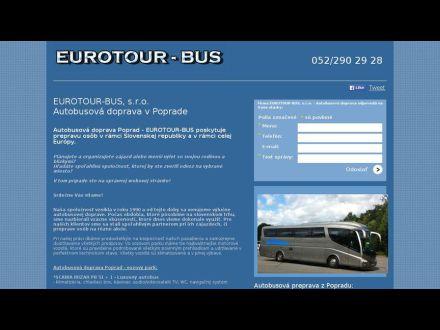 www.autobusovadoprava-eurotour.sk